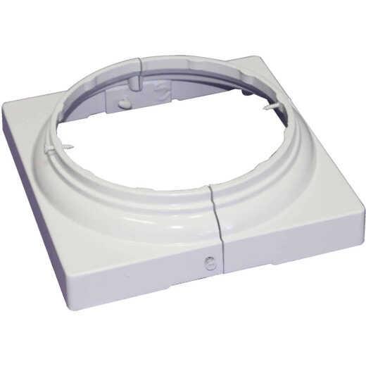 Crown Column 6 In. White Aluminum Split Cap/Base