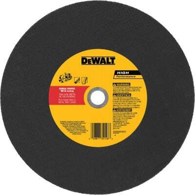 DeWalt HP Type 1 14 In. 1x /8 In. x 20 mm Metal Cut-Off Wheel