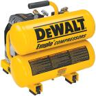 DeWalt 4 Gal. Portable 100 psi Twin-Stack Air Compressor Image 1