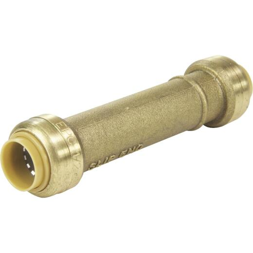 SharkBite 1 In. Push-to-Connect Brass Repair Coupling