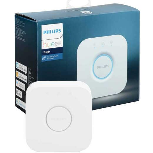 Philips Hue Plug-In Smart Bridge, White