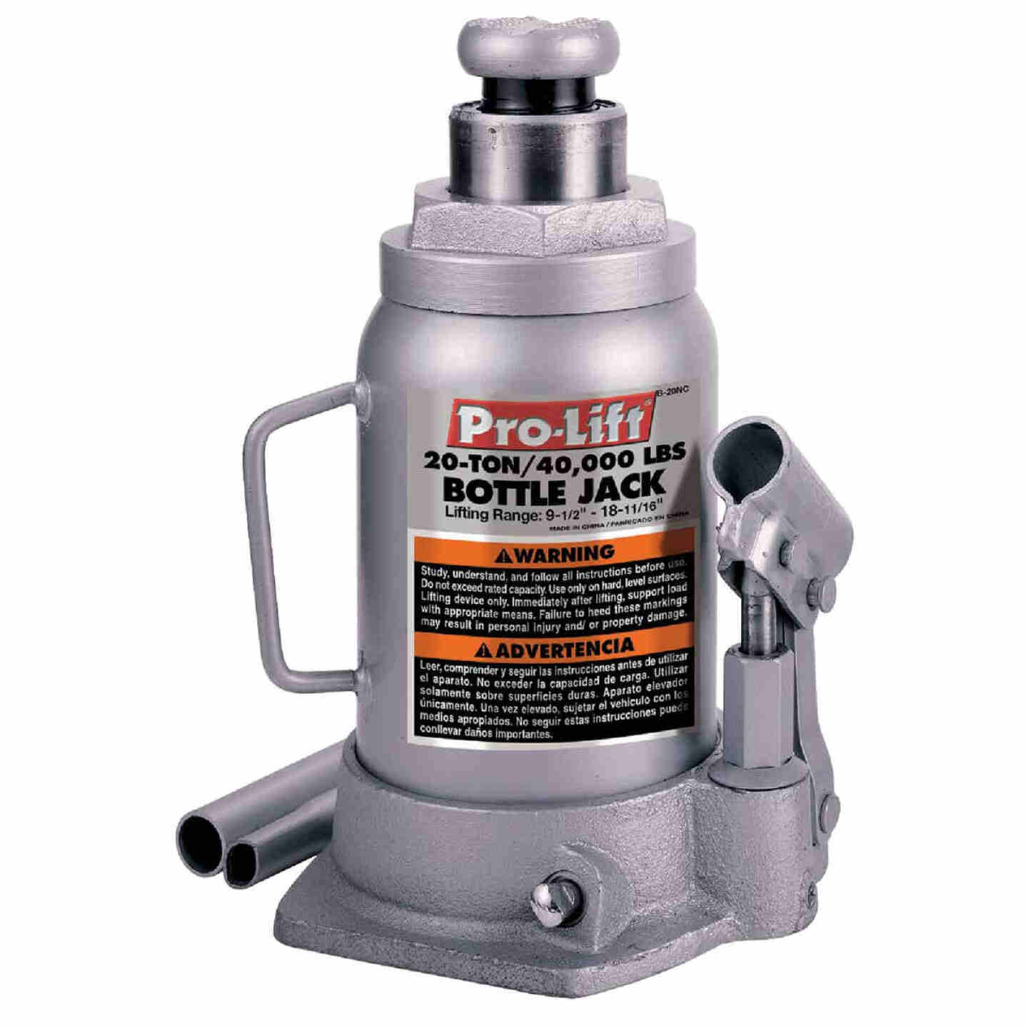 Pro-Lift 20-Ton Hydraulic Bottle Jack Image 1