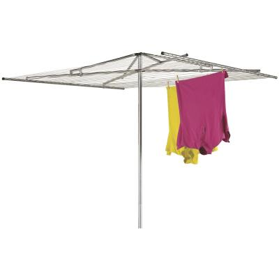 Household Essentials Sunline 72 In. x 72 In. 210 Ft. Drying Area Umbrella Style Clothes Dryer