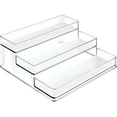 iDesign Linus Clear Plastic Stadium Spice Rack