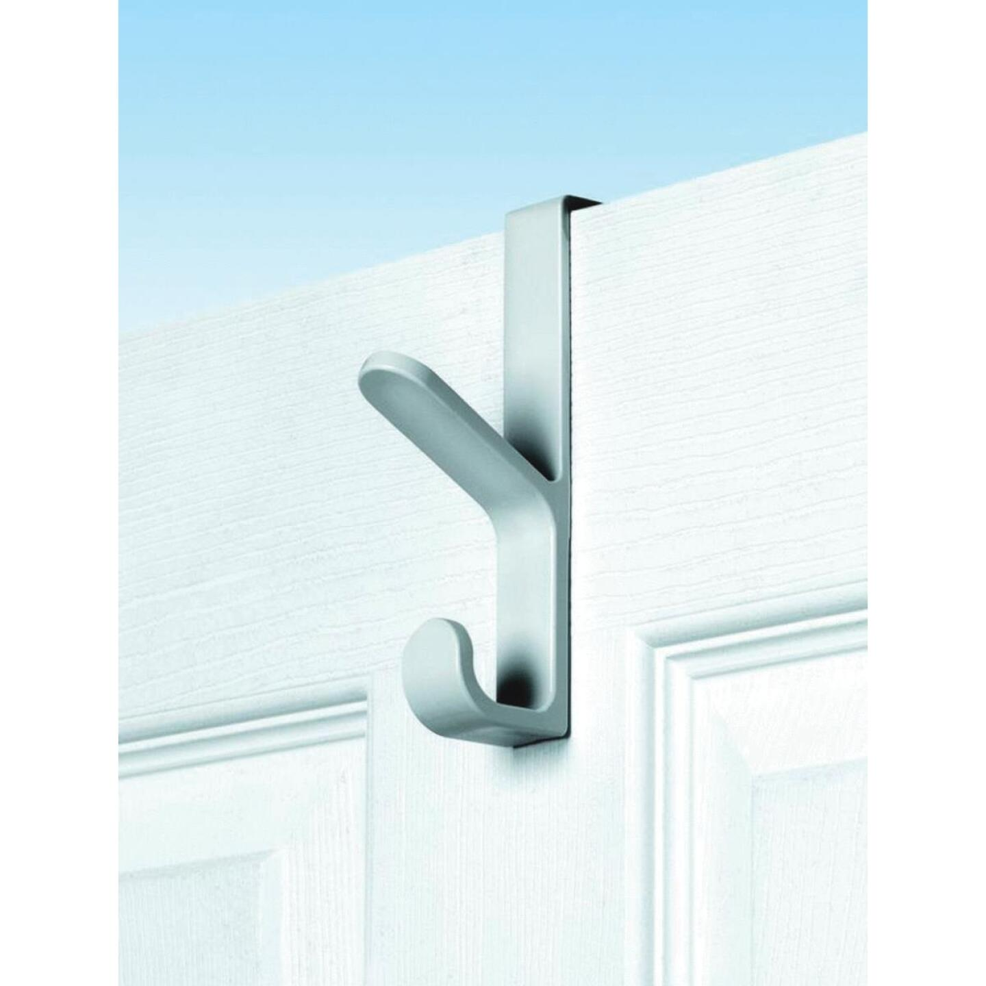 Spectrum White Plastic Over-The-Door Hook, 5-1/2 In. Image 1