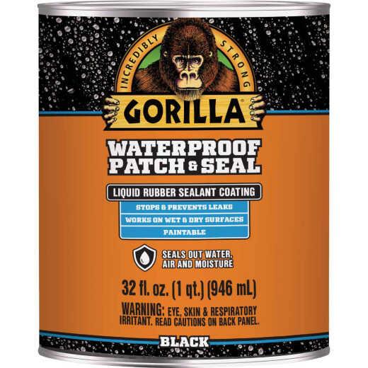 Gorilla 32 Oz. Black Waterproof Patch & Seal Liquid