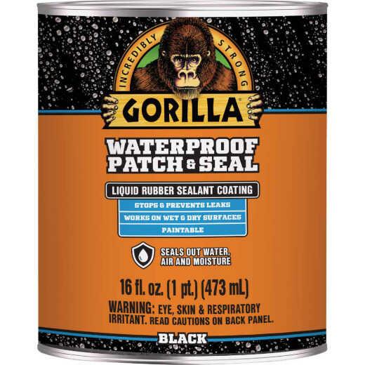 Gorilla 16 Oz. Black Waterproof Patch & Seal Liquid